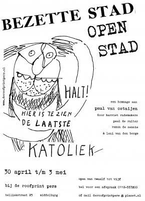 bezette-stad-affiche